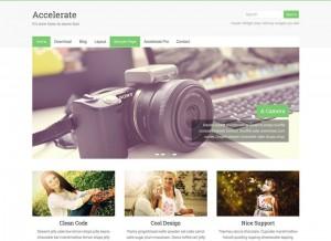 Accelerate : Eine Responsive WordPress Internetseite erhalten Sie bei uns bereits ab 1400 €