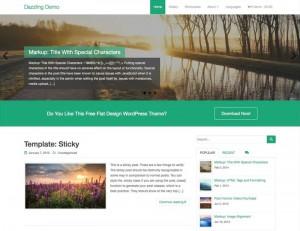 Dazzling : Eine Responsive WordPress Internetseite erhalten Sie bei uns bereits ab 1400 €