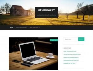 Hemingway : Eine Responsive WordPress Internetseite erhalten Sie bei uns bereits ab 1400 €