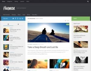Hueman : Eine Responsive WordPress Internetseite erhalten Sie bei uns bereits ab 1400 €