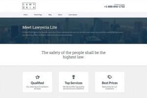 Lawyeria-Lite : Eine Responsive WordPress Internetseite erhalten Sie bei uns bereits ab 1400 €