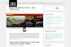Lola : Eine Responsive WordPress Internetseite erhalten Sie bei uns bereits ab 1400 €