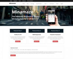 Minamaze : Eine Responsive WordPress Internetseite erhalten Sie bei uns bereits ab 1400 €