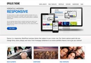 Opulus-Theme : Eine Responsive WordPress Internetseite erhalten Sie bei uns bereits ab 1400 €