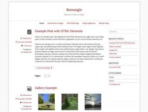Romangie : Eine Responsive WordPress Internetseite erhalten Sie bei uns bereits ab 1400 €