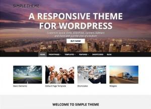 Simple-Theme : Eine Responsive WordPress Internetseite erhalten Sie bei uns bereits ab 1400 €