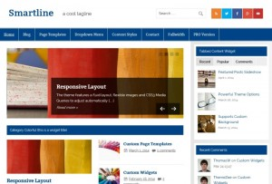 Smartline-Lite : Eine Responsive WordPress Internetseite erhalten Sie bei uns bereits ab 1400 €