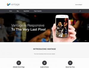 Vantage : Eine Responsive WordPress Internetseite erhalten Sie bei uns bereits ab 1400 €