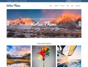 Virtue : Eine Responsive WordPress Internetseite erhalten Sie bei uns bereits ab 1400 €